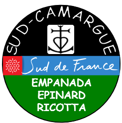 étiquette de l'empanada épinard ricotta