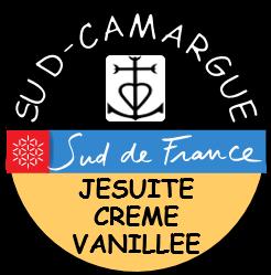 étiquette du jésuite crème vanillée