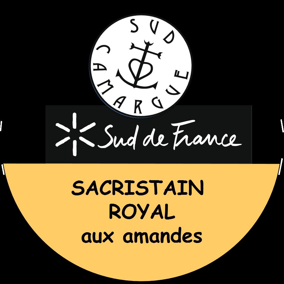 étiquette du sacristain royal aux amandes